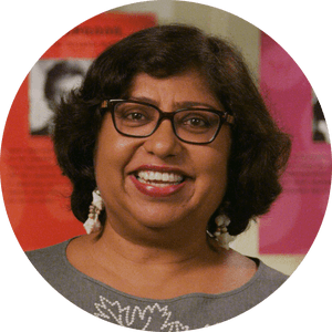 Dipika Mukherjee is a writer featured in the exhibit My America: Immigrant and Refugee Writers Today